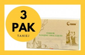 Trzypak Fohow Sanqing Oral Liquid Eliksir Feniks
